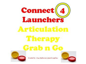 Connect Four LaunchersArticulation Grab n Go