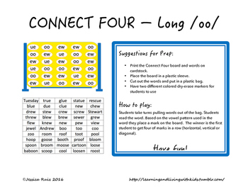 Connect Four - Long /oo/