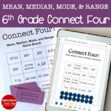 Connect Four: Mean, Median, Mode, and Range
