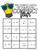 Connect Four One-Step and Two-Step Equations Game