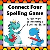 Spelling Game Connect Four Partner Color Activity