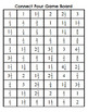 Connect Four- Partner Game- Multiplying Fractions by Whole Numbers TEKS 5.3I