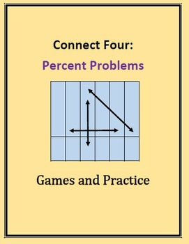 Connect Four: Precent, Discount, Markups, Games and Practice