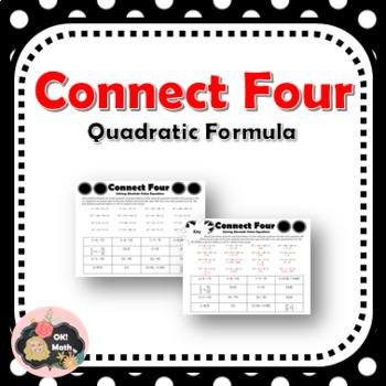 Connect Four Quadratic Formula