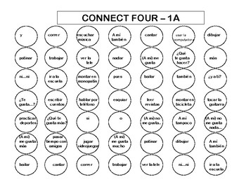 Connect Four (Realidades I - 1A & 1B)