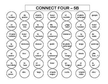 Connect Four (Realidades I - 5B-9B)