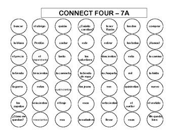 Connect Four (Realidades I - 7A & 7B)