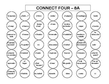 Connect Four (Realidades I - 8A & 8B)