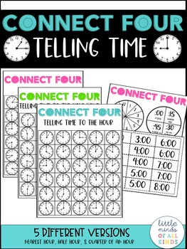Connect Four Telling Time