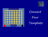 Connect Four Template Teaching Resources | Teachers Pay Teachers