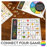 Connect Four Word Work Game - Beginning Letter Sounds