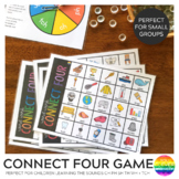 Connect Four Word Work Game - Digraphs CH PH SH TH WH + Trigraph TCH