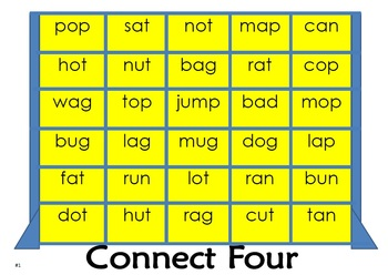 Connect Four (with words)