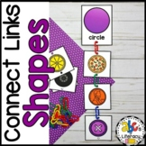 Sort and Link 2D and 3D Shapes Activity