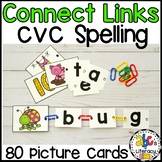 Spell and Link CVC Words Activity