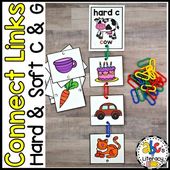 Connect Links Hard and Soft C and G Sort Cards
