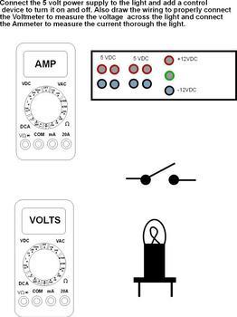 Connect Meters (Circuit One) Worksheet