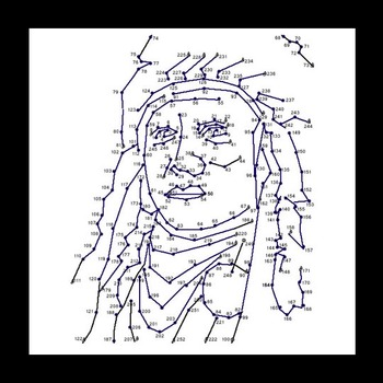 Connect The Dots - Famous Faces - Chief Powhattan