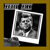 Connect The Dots - Famous Faces - John F. Kennedy