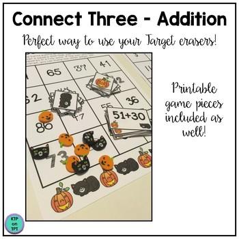 Connect Three Addition Freebie
