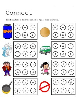 Connect (Word Families)