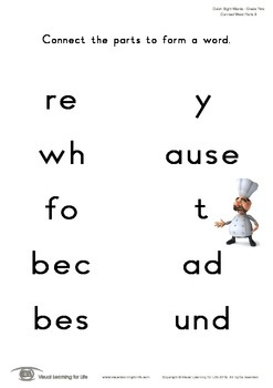 Connect Word Parts (2nd Grade)