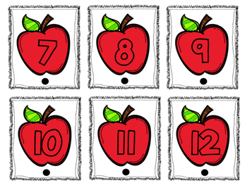 Connect and Count Apple Math Center