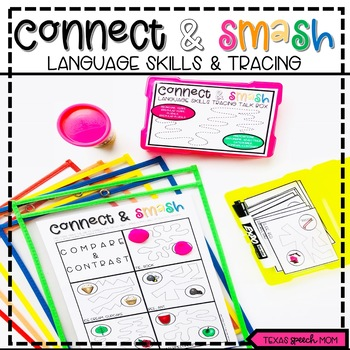 Connect and Smash: Language Skills and Tracing in Speech Therapy