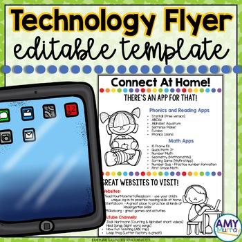Technology Connection Flyer (editable!)