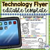 Technology Connection Flyer Editable Template