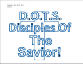 Connect the D.O.T.S (OBJECT LESSON)