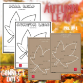 Autumn Leaf - Connect the Dots