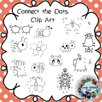 Connect the Dots Clip Art