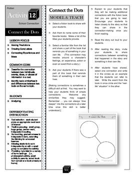Connect the Dots – Making Connections Activity