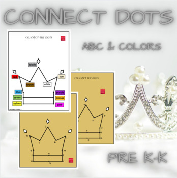 Connect the Dots - Crown FREEBIE
