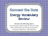 Connect the Dots Energy Vocabulary Review