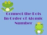 Connect the Dots (Frog) - By Atomic Number