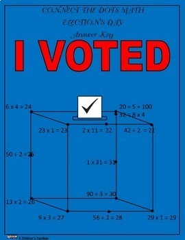 Election's Day - Connect the Dots Math