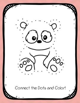 Connect the Dots Panda