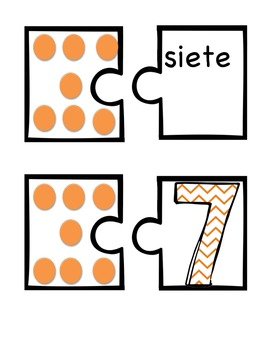 Connect the Dots (SPANISH-Math Game-Common Core Aligned)