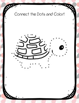 Connect the Dots Turtle