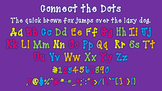 Connect the Dots font