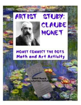 Connect the Dots with Claude Monet:  An Integrated Reading and Math Activity