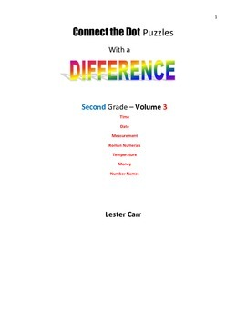 Connect the Dots with a Difference  Grade 2 Vol. 3