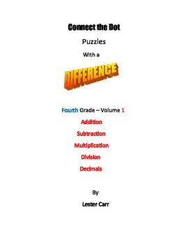 Connect the Dots with a Difference  Grade 4  Vol.1