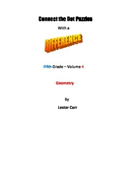 Connect the Dots with a Difference   Grade 5 Vol. 4