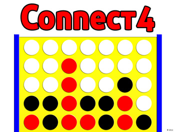 Connect4 powerpoint template create your own review game tpt connect4 powerpoint template create your own review game toneelgroepblik