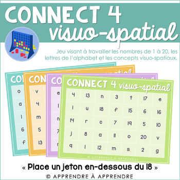 Connect4 visuo-spatial
