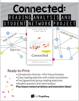 Connected: Informational Reading Analysis Group Jigsaw and