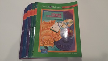 Connected Mathematics: Clever Counting + Lot of 3 Numbers & Operations Books EXL